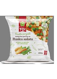 Mešavni povrća za rusku salatu TO 450gsmrznuto